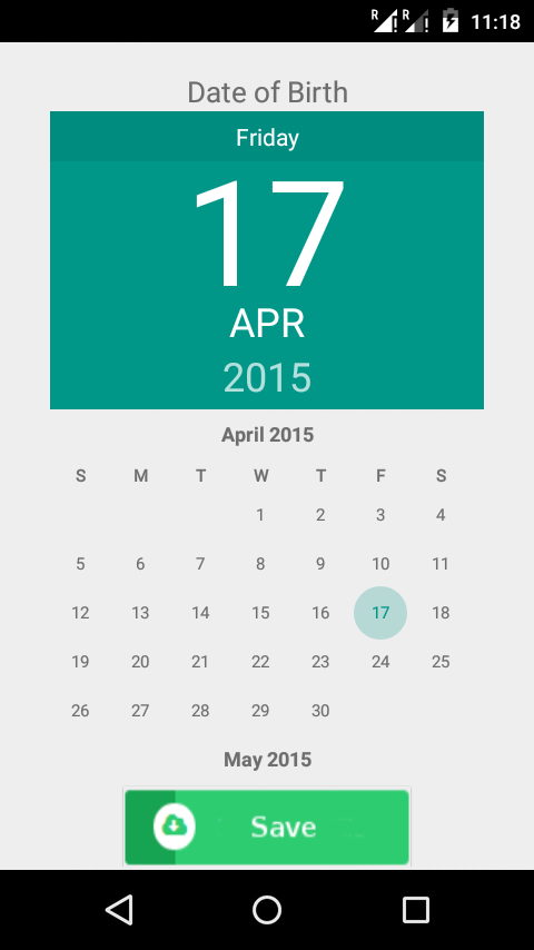KaunDay Smart Calendar (Android App)