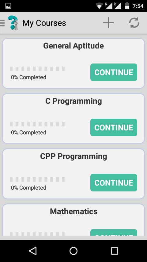 Quiz Mania (Android App)