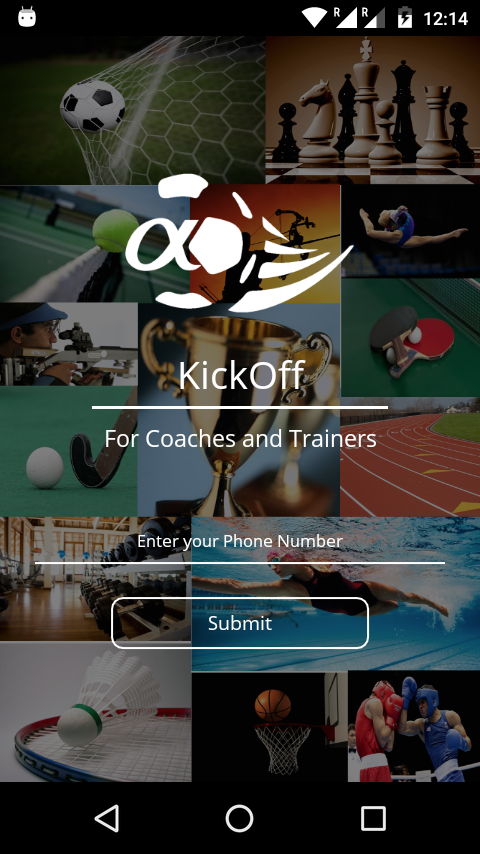 KickOff - Coaches & Trainers (Android App)